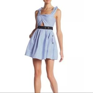 Romeo + Juliet Couture Striped Dress